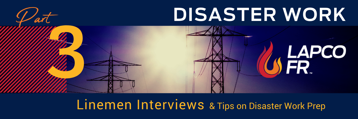 linemen storm work interviews and preparation tips lapco fr