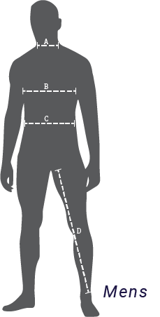 mens how to measure lapco fr sizing