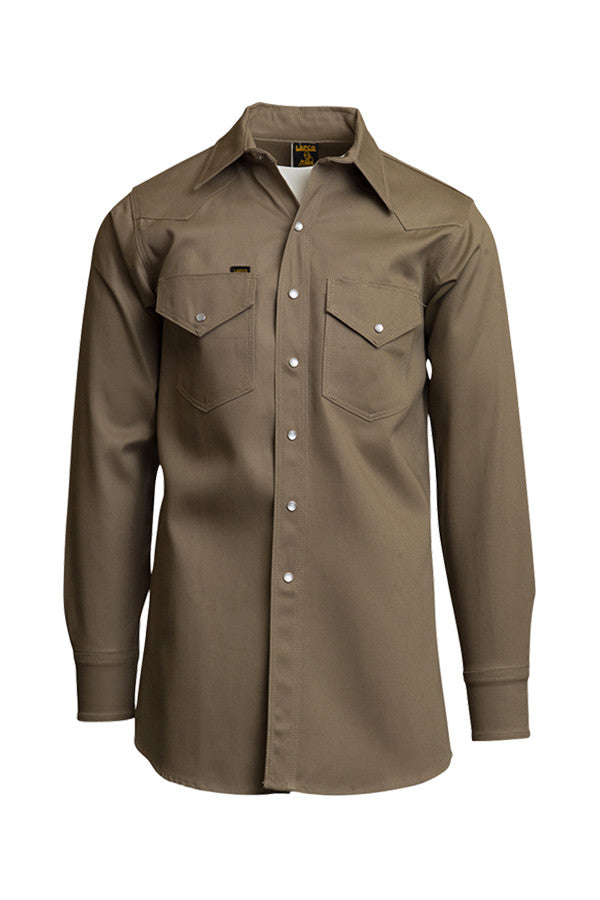 Mid-Weight Welding Shirts | Non-FR | 8.5oz. 100% Cotton - www.lapco.com