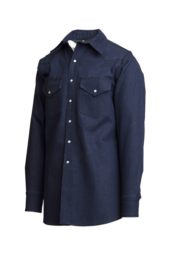 10oz. Heavy-Duty Welding Shirts | Non-FR | Denim 100% Cotton - www.lapco.com