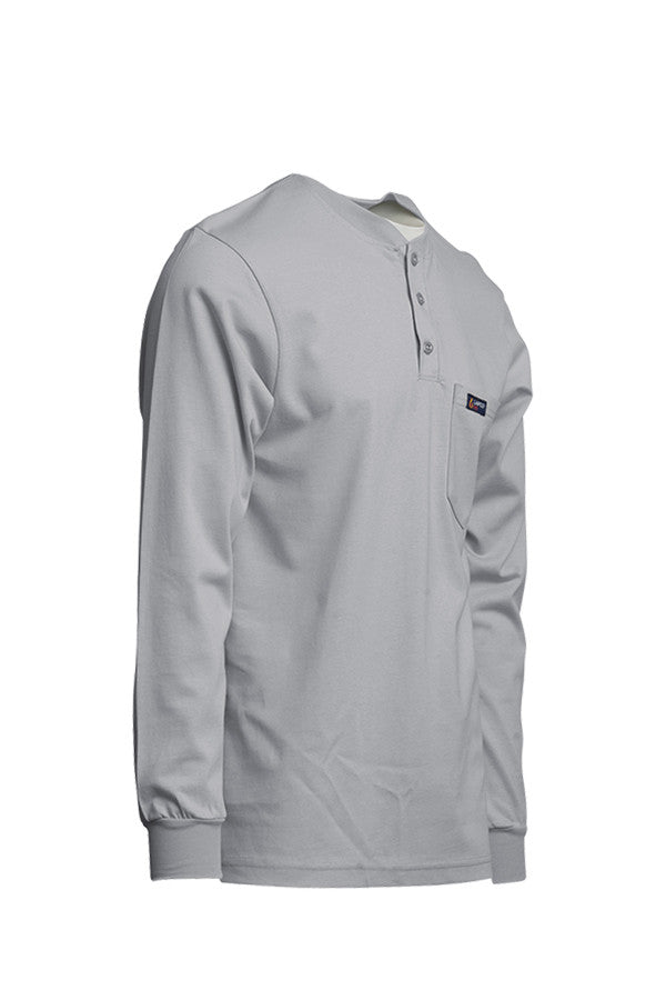 Gray FR Henley T-Shirt - www.lapco.com