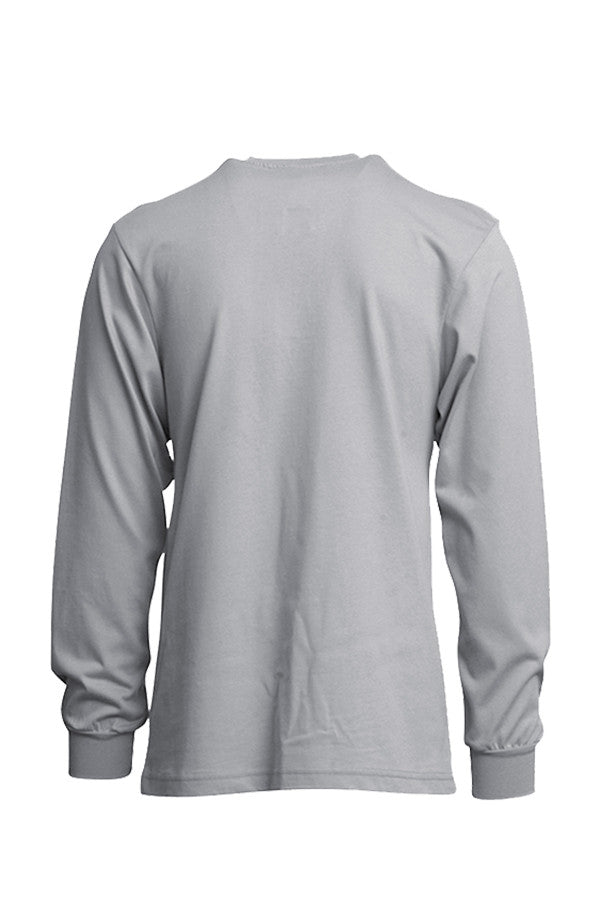 FR Henley Tees Linemen Cotton Jersey Knit