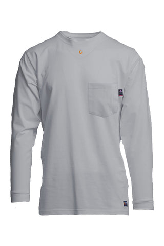 FR Henley Tees | Power Lineman Shirts | 7oz. 100% Cotton Jersey Knit