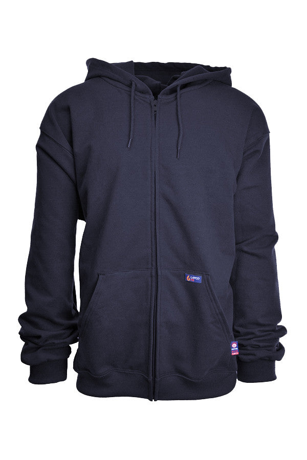 FR Full Zip Sweatshirt | 12oz. 95/5 Blend Fleece - www.lapco.com