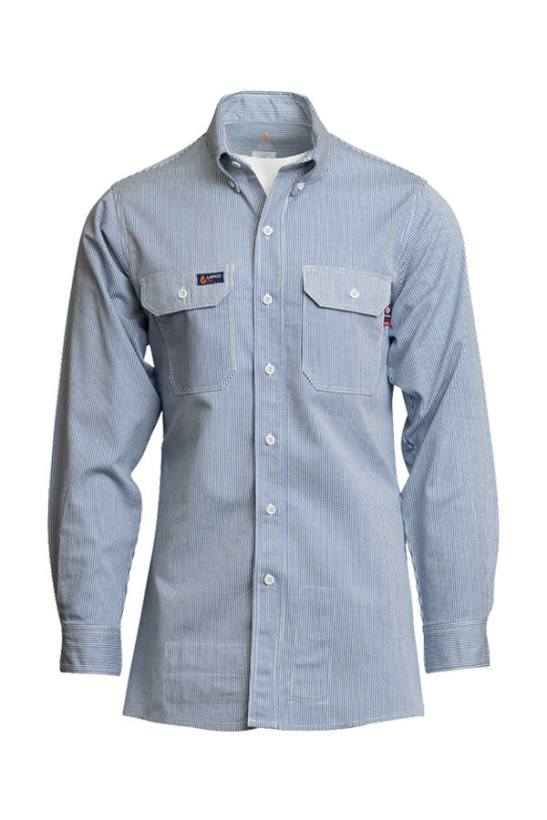 FR Uniform Shirt - Blue/White Stripe