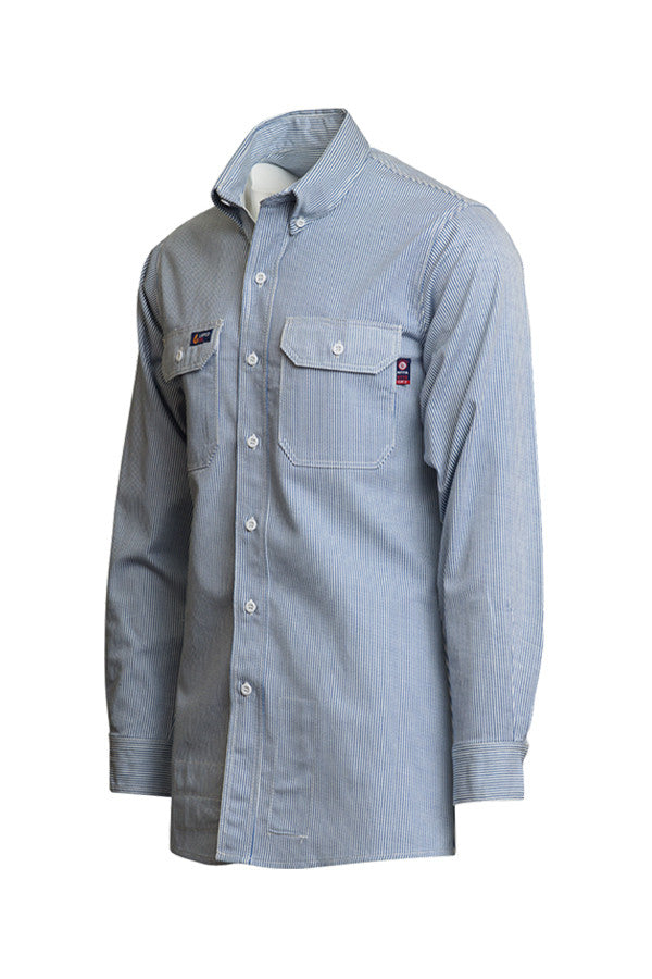 7oz. FR Striped Uniform Shirts | 100% Cotton - www.lapco.com
