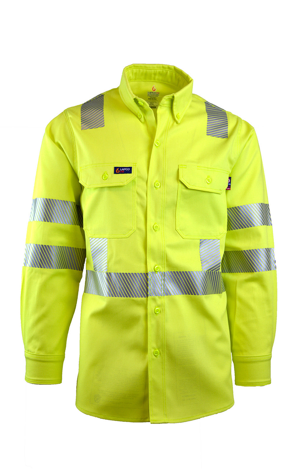 FR Uniform Shirts - Hi-Viz Yellow