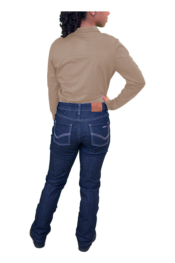 Coming Soon - Ladies FR Comfort Stretch Jeans | 11oz. Cotton Stretch Blend