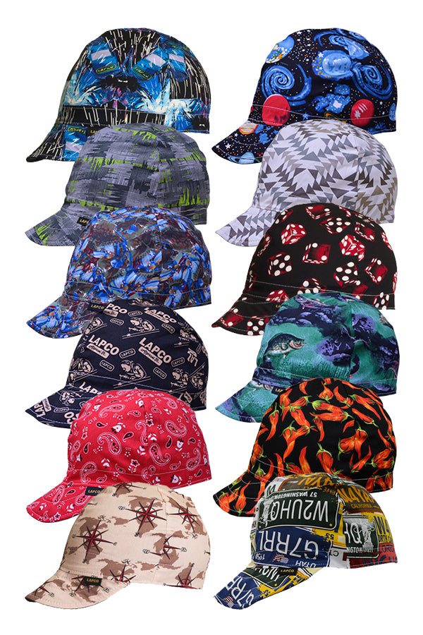 LAPCO Welding Cap | 4 Panel 100% Cotton - www.lapco.com
