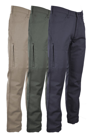 FR Canvas Jeans | made with 8.5oz. Westex® UltraSoft® - www.lapco.com