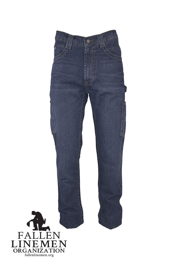 FR Utility Jeans | Lineman Jeans | 10oz. 100% Cotton fire jeans
