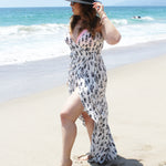 Paz Wrap Dress Swimsuit Cover-up