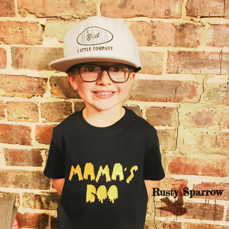 Mama's Boo Kids Shirt