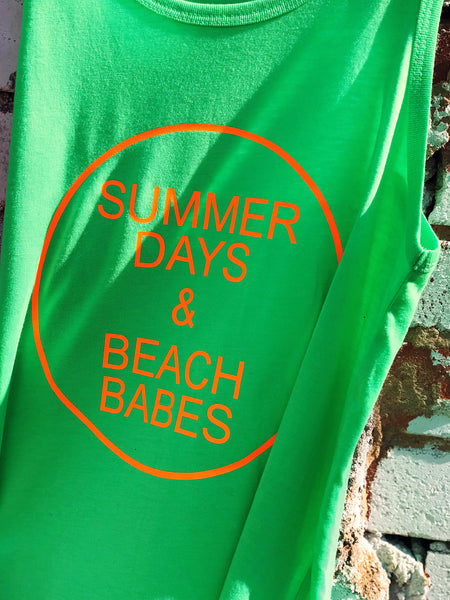 Summer Days & Beach Babes Tank