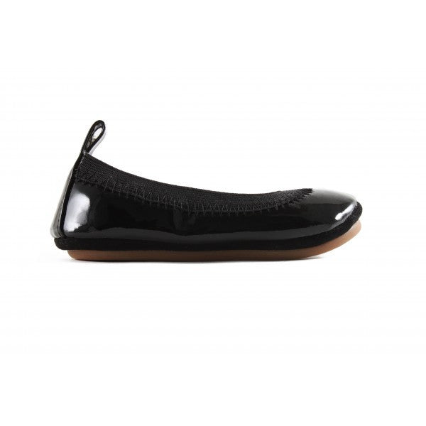 Kids Sammie Soft Patent Leather In Black