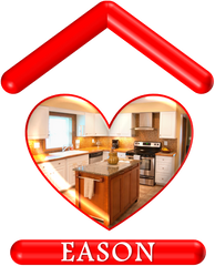 Eason House Heart Logo