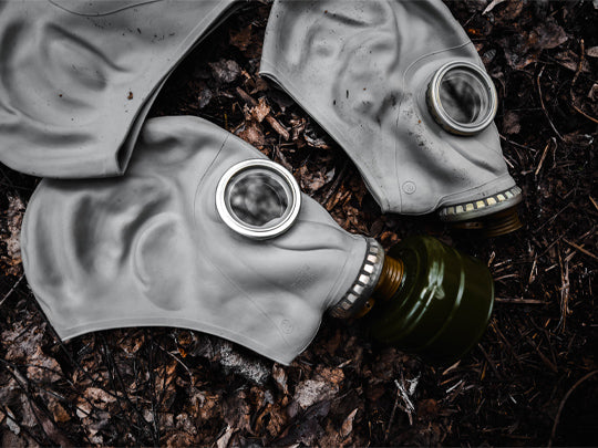 Soviet   gas    mask                                                    GP-5