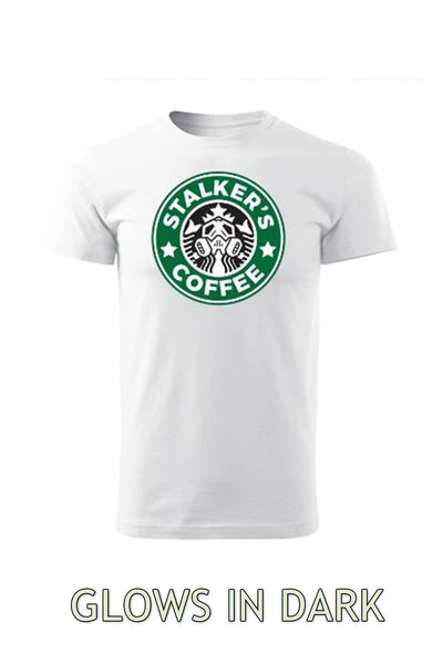 T-shirt STALKER´S COFFEE (Glows in dard) / men