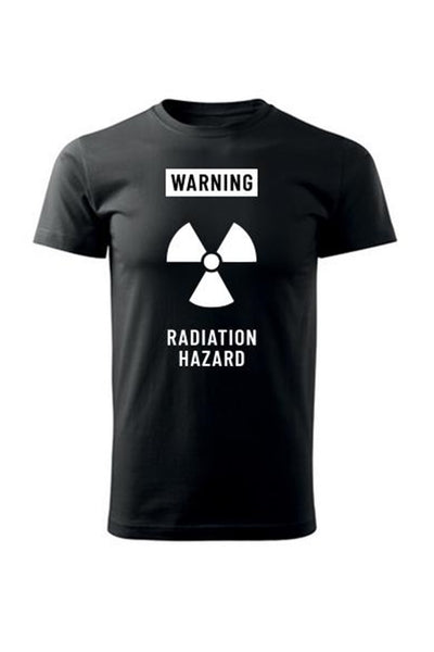 T-shirt WARNING Radiation hazard