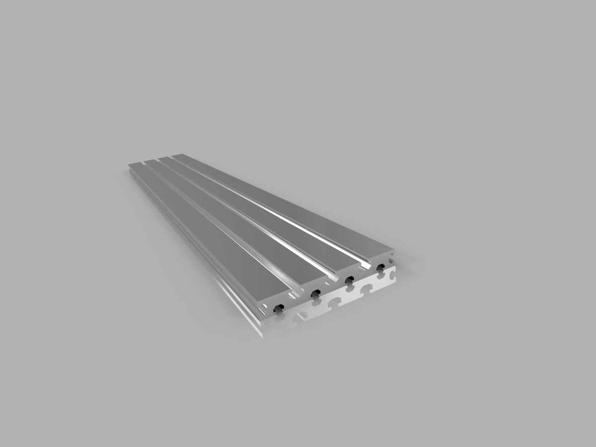 T-Slot Table Top (Aluminum Extrusion) 160x20mm, 1500mm Length