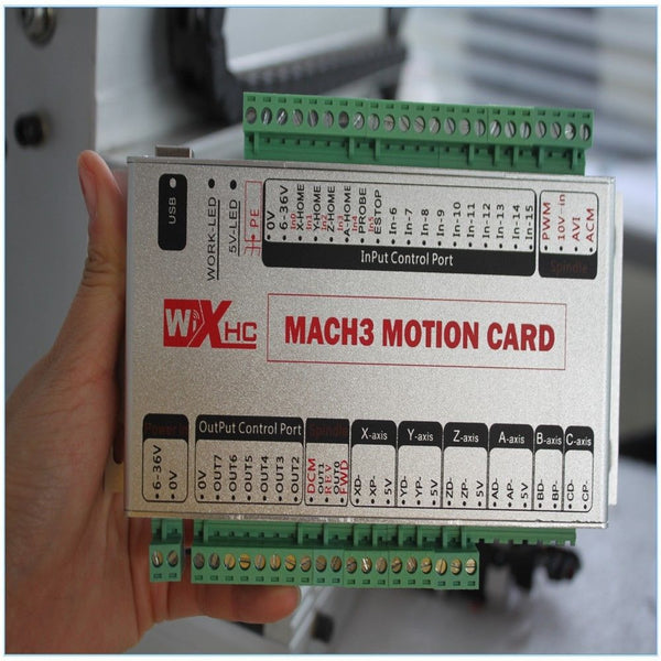 MACH3 USB 4-Axis Motion Controller + Wireless MPG Kit