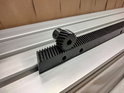 Precision Helical Rack and Pinion Kit - Modula 1.0, 17x17x1500MM