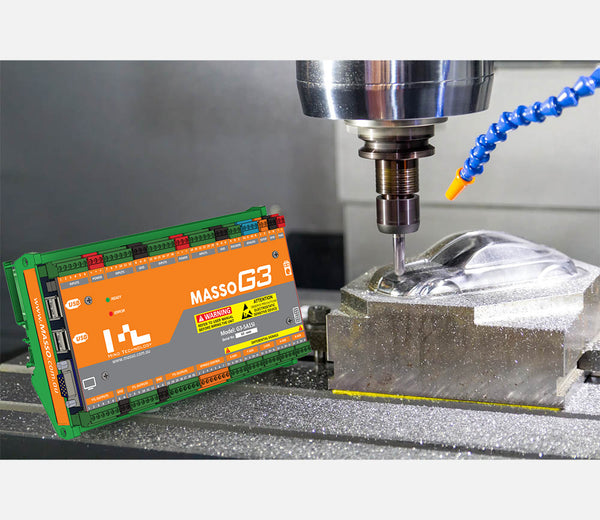 MASSO G3 CNC Mill/Router Controller - 5-Axis