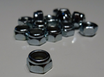 M5 Nylon Lock Nuts (M5 x 0.8mm) - Set of 50pcs.