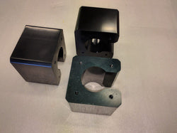 NEMA23 Economy Solid Stepper Motor Mount - 3pc Set