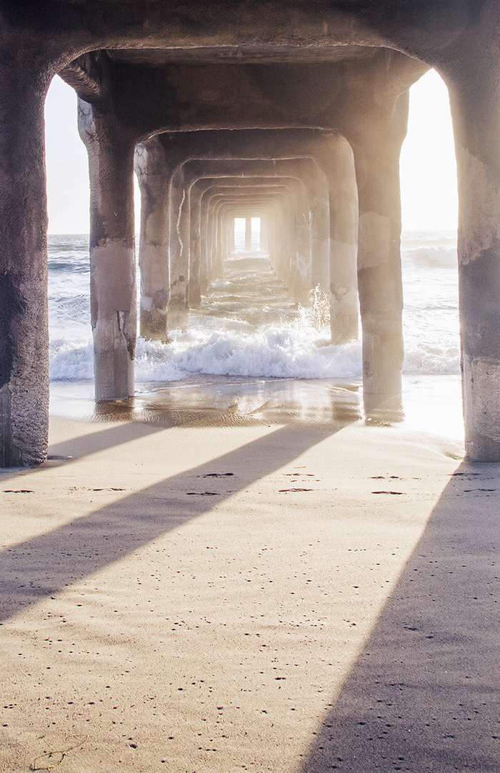 MANHATTAN BEACH PIER (portrait)