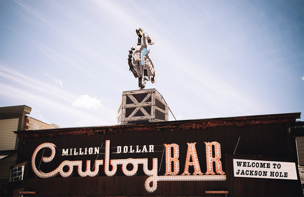 Afternoon at the Million Dollar Cowboy Bar