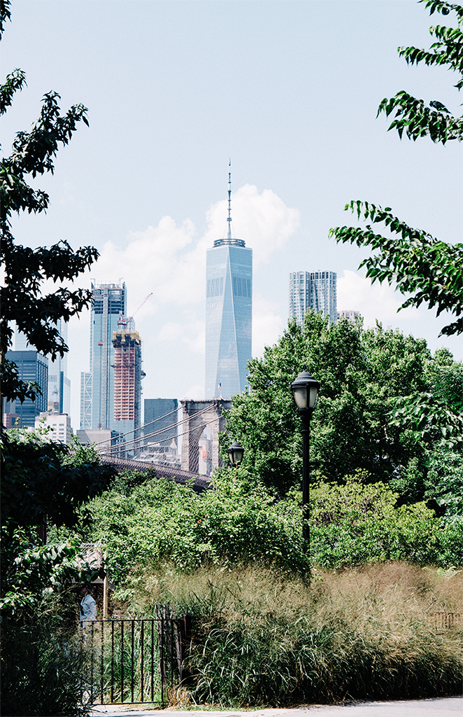 View of the Freedom Tower from Brooklyn