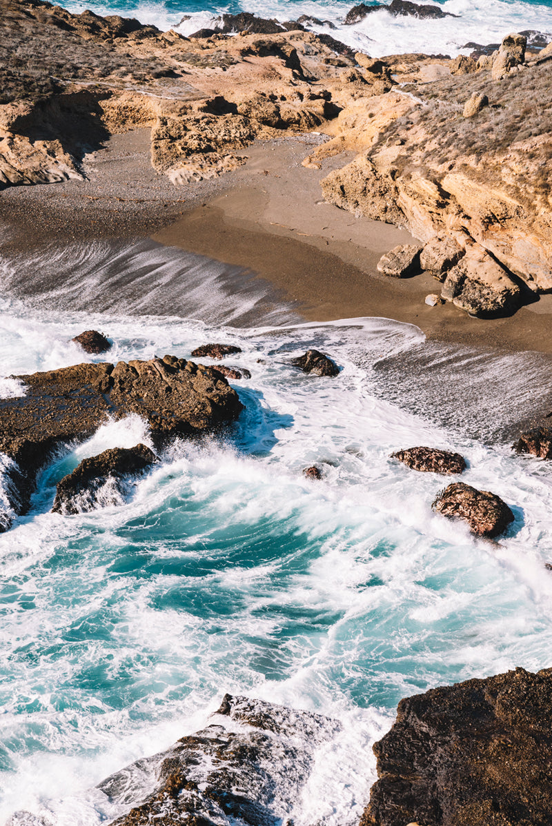 Crashing Waves in Big Sur