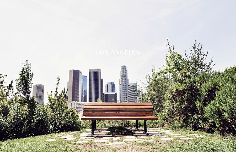 LOS ANGELES - BENCH