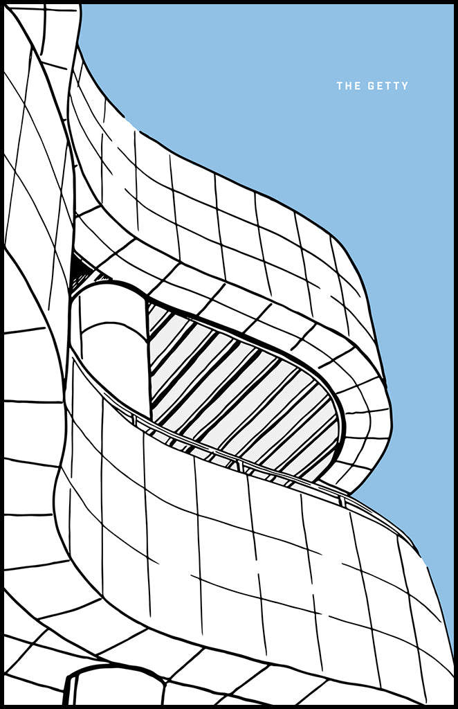 THE GETTY - Illustration
