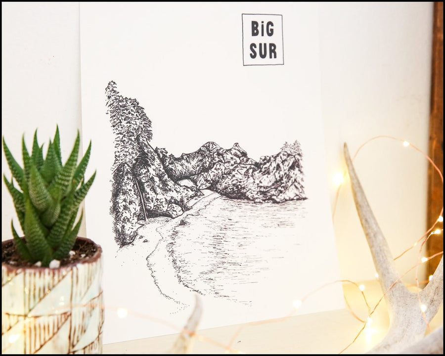 Big Sur (Illustration)