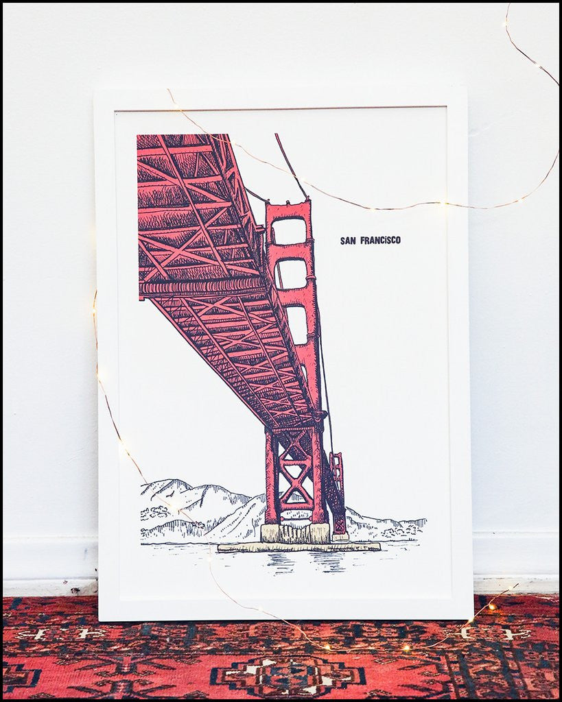 Golden Gate Bridge (Illustration)