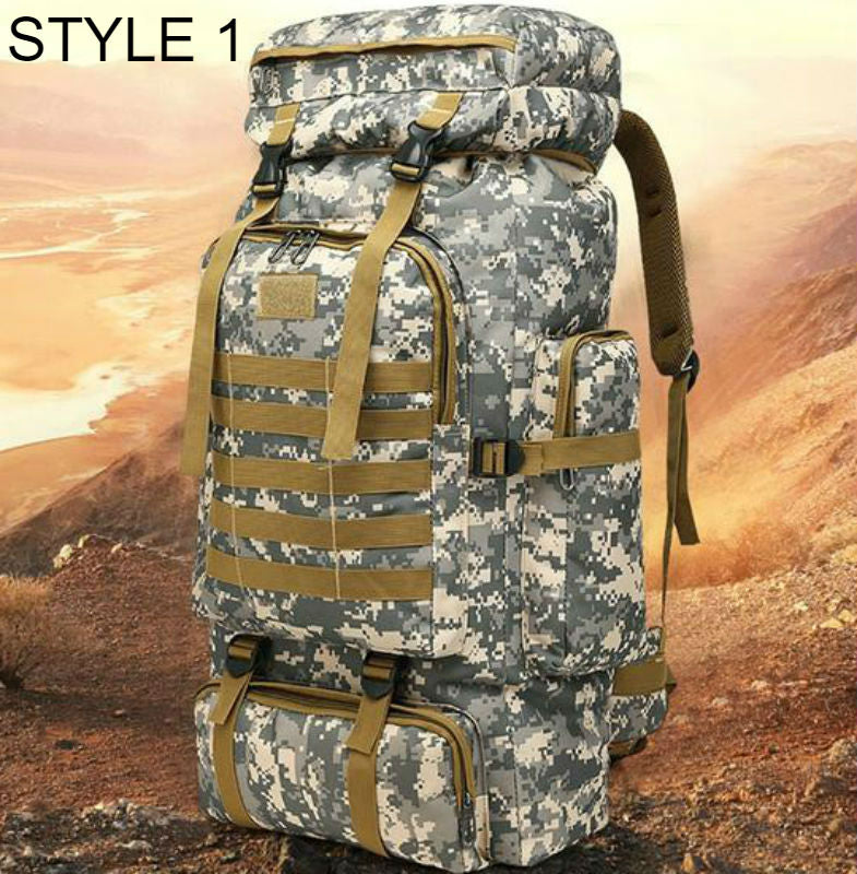 Extra Large 80L Tactical Molle Backpack - Free Shipping
