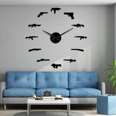 💥 2A Weapon Wall Clock 💥