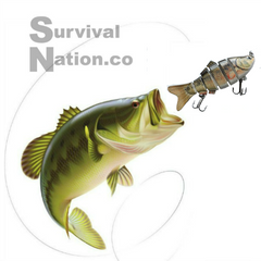 Exclusive Six Segement Swimbait Fresh/Saltwater Fishing Lure