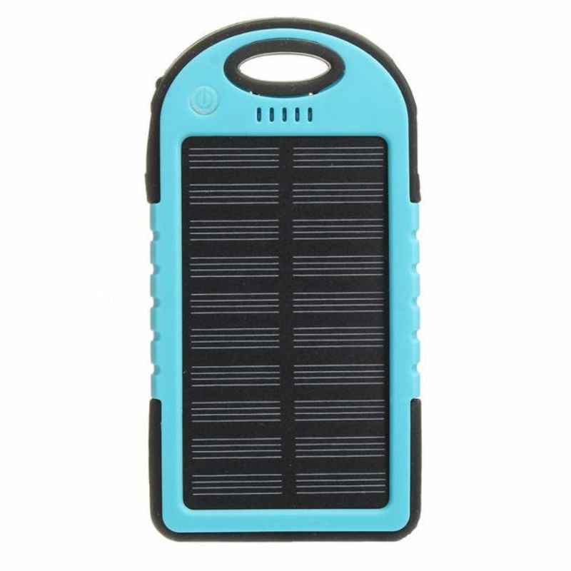 Rugged, Portable and Compact Waterproof Solar Charger
