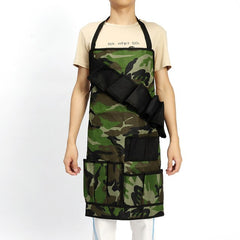 Multi-function Camouflage Outdoor BBQ Apron