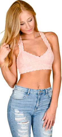 Racer Back Bralette - 9 Colors