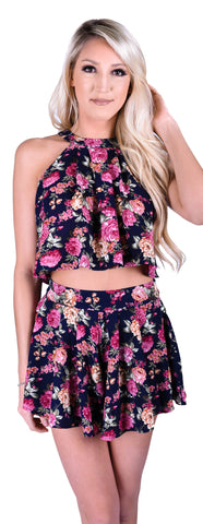 Breaking Blooms Two Piece