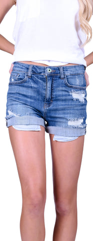 Cuffed At The Edge Shorts