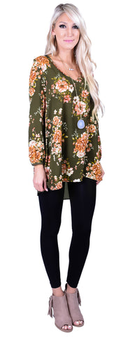Flirting With Florals Tunic