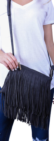 Forever Fringe Handbag- 3 Colors
