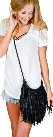 Fringe With Benefits Handbags- 3 Colors