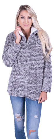 Frosty Tips Sweater - Grey
