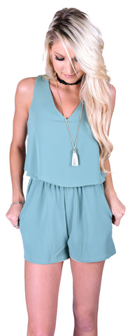 Green Envy Romper